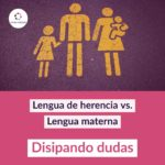 Lengua der herencia vs. Lengua materna - Disipando dudas